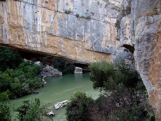 La eterna lucha entre la roca y el agua