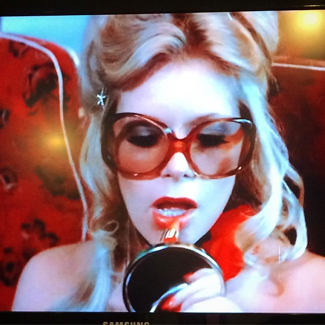 "Currently watching: ""Respectable: The Mary Millington Story"". 💋"