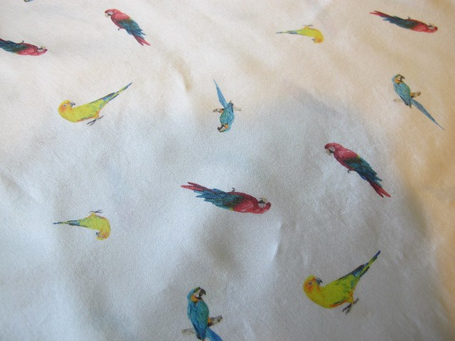 Silk Bird Scout Tee