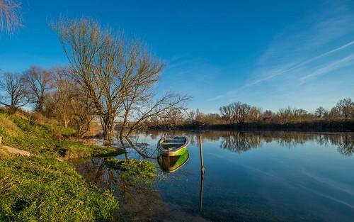 sunset boats boat croatia rivers kupa hrvatska nikkor173528 riverkupa nikond600