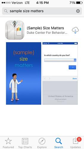 (Sample) Size Matters