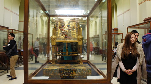King Tutankhamen's chair