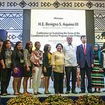 Philippine President Aquino addresses CCT event at ADB HQ
