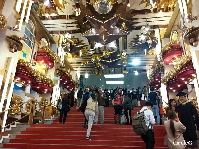 海港城 TST HONGKONG DISNEYLAND 尖沙咀 2015 CIRCLEG 聖誕裝飾 (8)