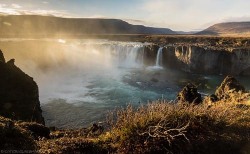 waterfall goðafoss unterwegsmiticelandtours photographyholidaywithicelandtours