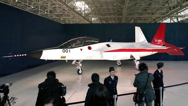 Japan unveiled its first homemade stealth plane ATD-X Shinshin