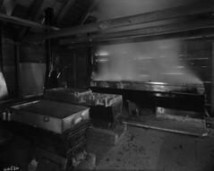 Boiling down maple sap / Ébullition de l'eau d'érable