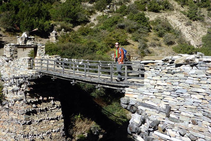Steve on Bridge
