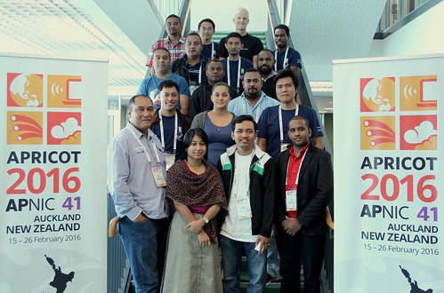 APRICOT 2016 Fellows