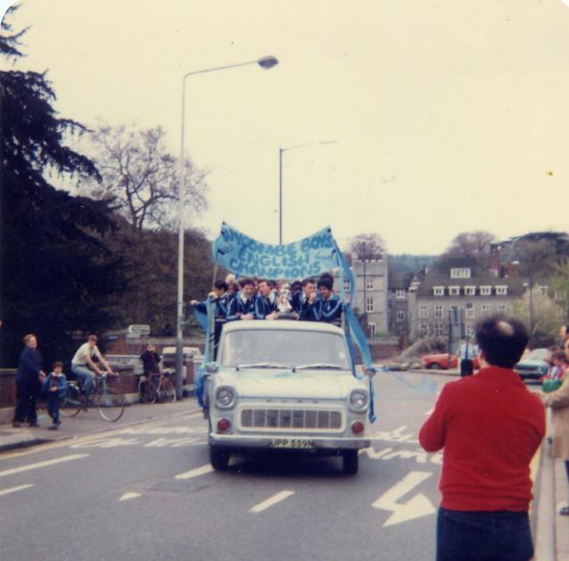 1981 English Schools champions