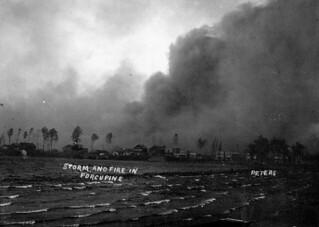 Storm and fire in Porcupine, Ontario, 1911 / Tempête et incendie à Porcupine (Ontario), en 1911