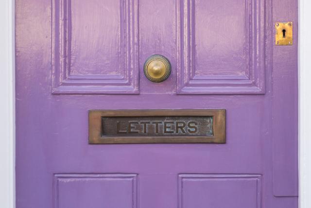 purple door in London