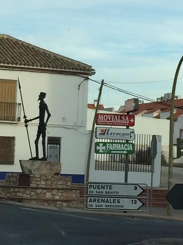 Don Quixote, Campo de Criptana
