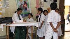 Health screening by Trinity Care Foundation | CSR Initiatives in India