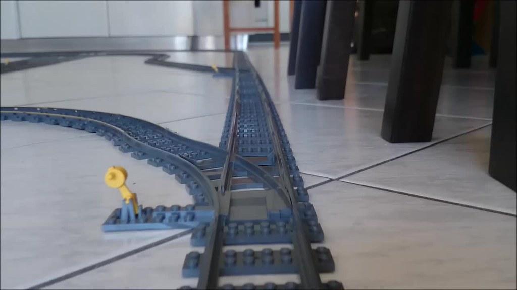 My LEGO Train Play Set 24913936423_8d02e22513_b