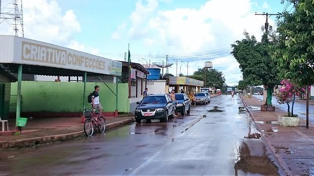 Castanho streets after rain
