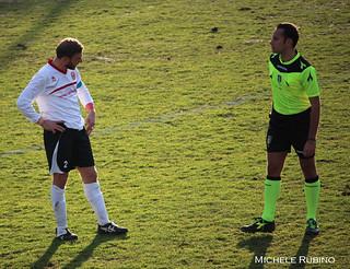 Rocco Gentile, autore del goal contro il Monte Sant'Angelo