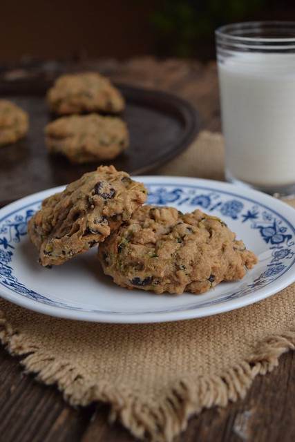 Zuchinni Chocolate Chip Cookie