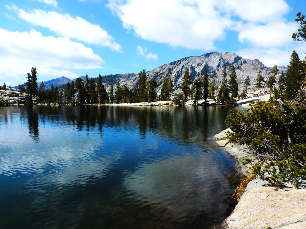 Peak Lake, Sequoia National Park, CA, USA
