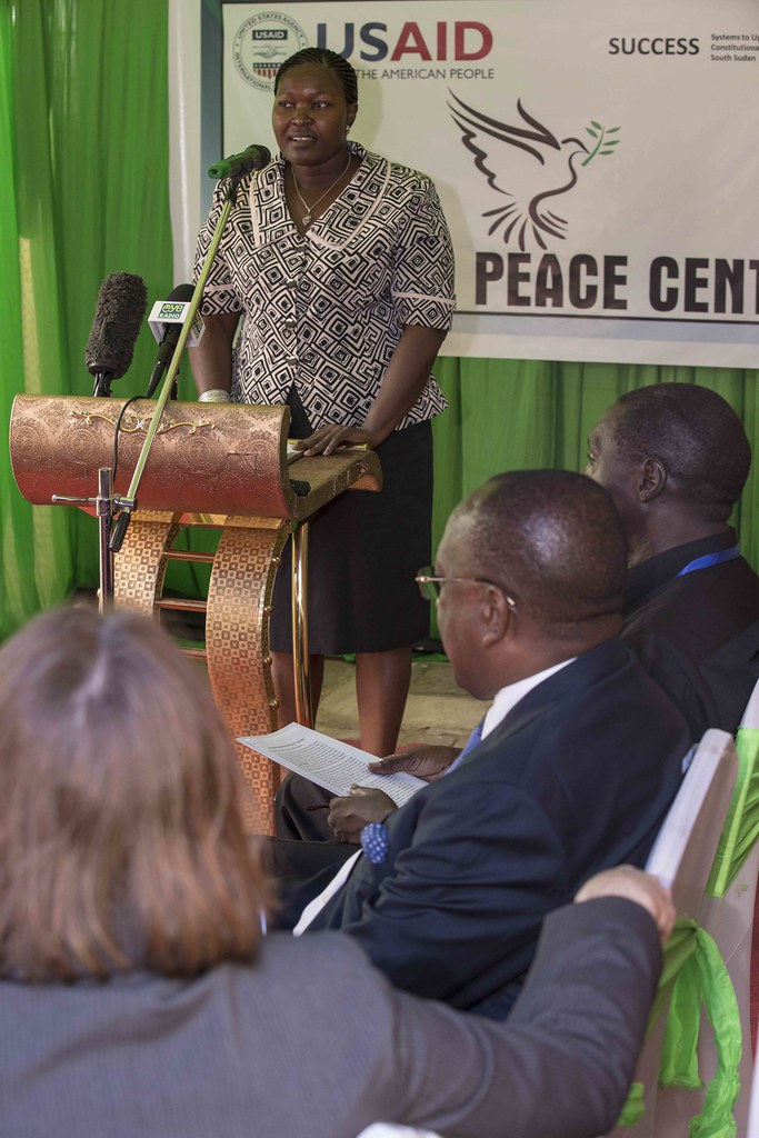 USAID annonces New Community Reconciliation Project at the opening National Peace Center
