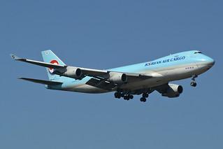 Korean Air Cargo Boeing 747-4B5F/SCD HL7403