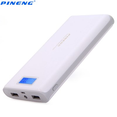 Blanco Original PINENG PNW - 920 20000mAh poder Banco