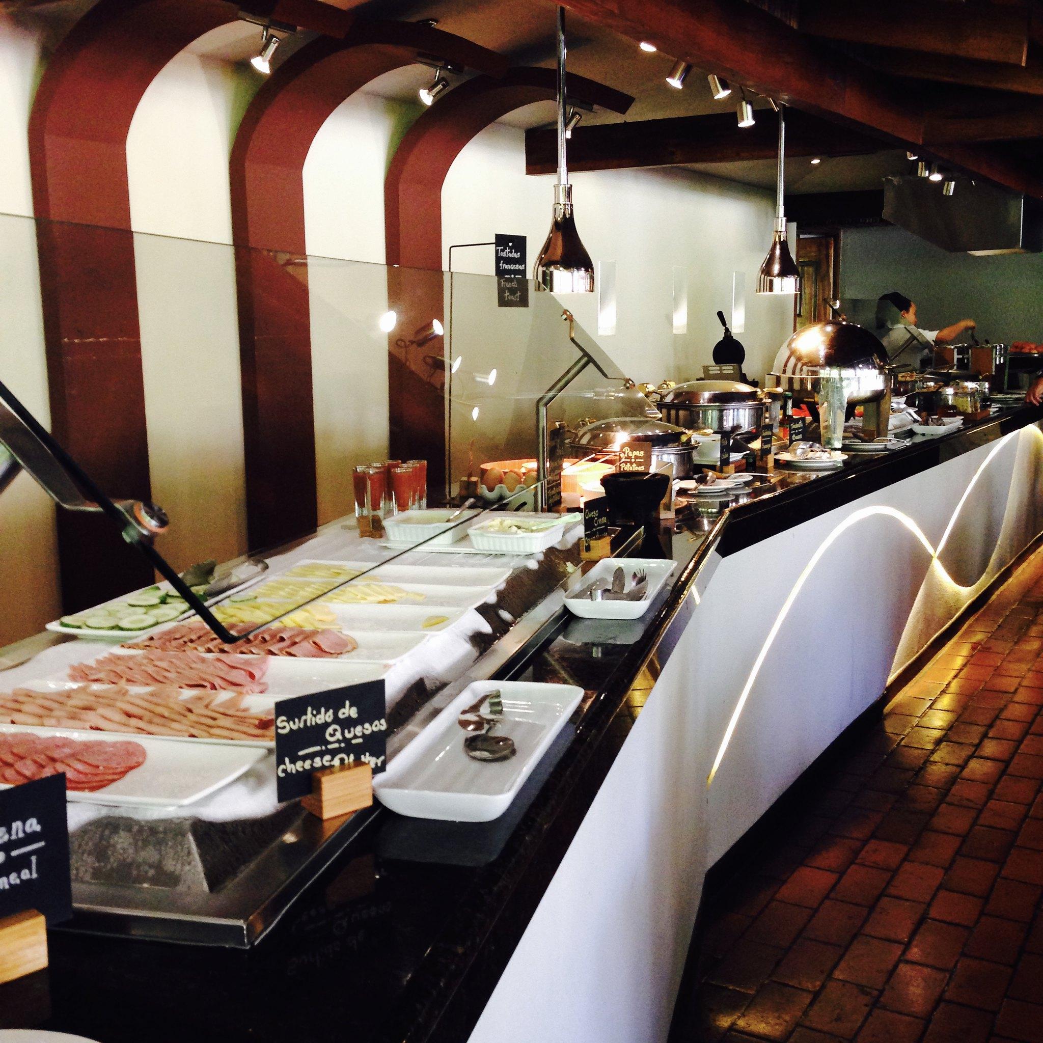 Breakfast at DoubleTree Hilton Cariari