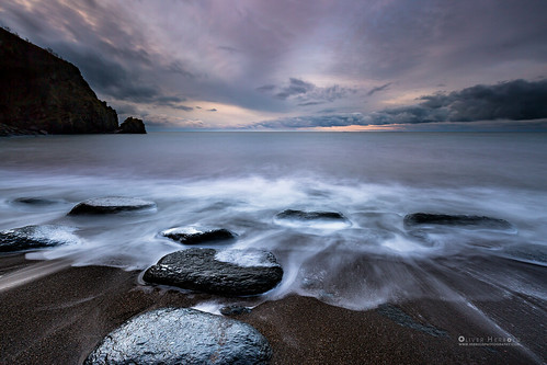 uk winter light sunset england beach clouds strand evening abend licht rocks waves colours sonnenuntergang outdoor wolken calm devon tranquil farben felsen wellen steady constant lynton ruhig valleyoftherocks stetig wringcliffbay beständig oliverherbold