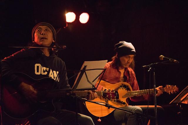 渡辺繁和 with モトイ live at Outbreak, Tokyo, 10 Mar 2016. (7M2)-00024