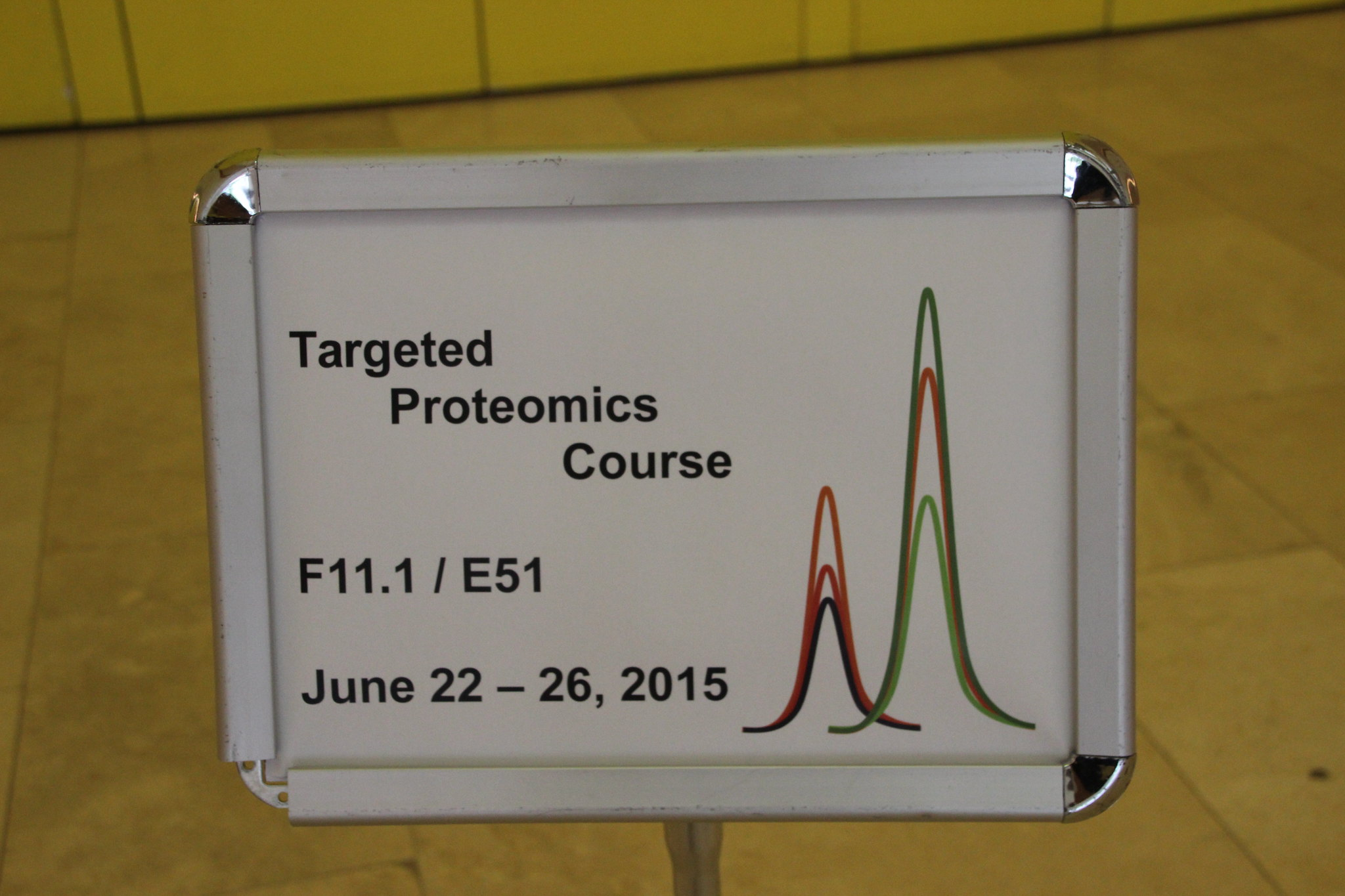 Targeted Proteomics Course 2015