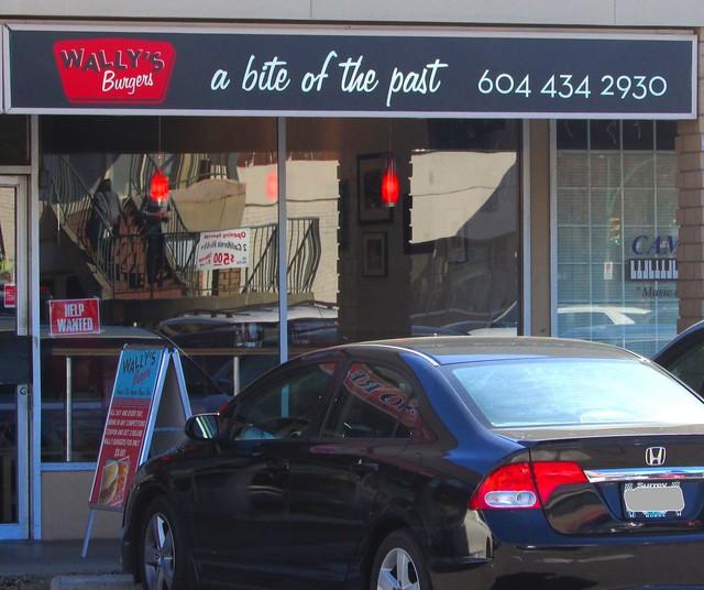 Wally's Burgers at Killarney Center, Vancouver BC