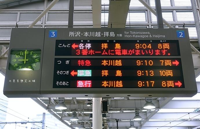 11 西武鐵道特急 川越一日遊 行程推薦