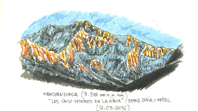 Kanchenjunga (8.586 m.s.n.m.)