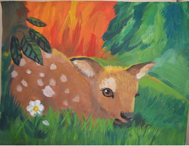 2016 Saving Endangered Species Youth Art Contest 3-5