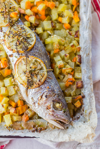 roasted croaker fish