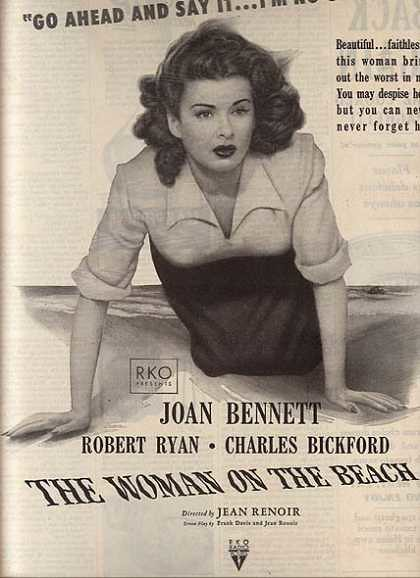 The Woman on the Beach - Poster 3