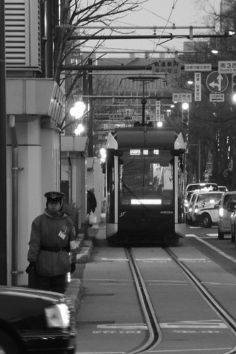 Tramcars at Sapporo on APR 02, 2016 (5)