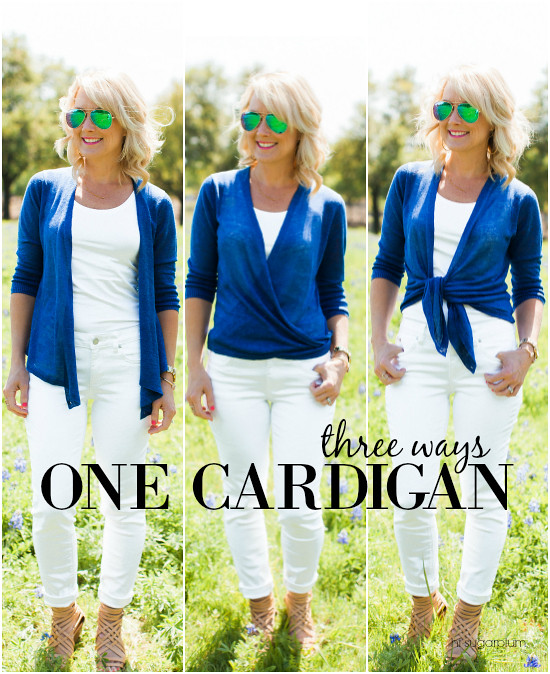 Hi Sugarplum | 1 Cardi 4 Ways