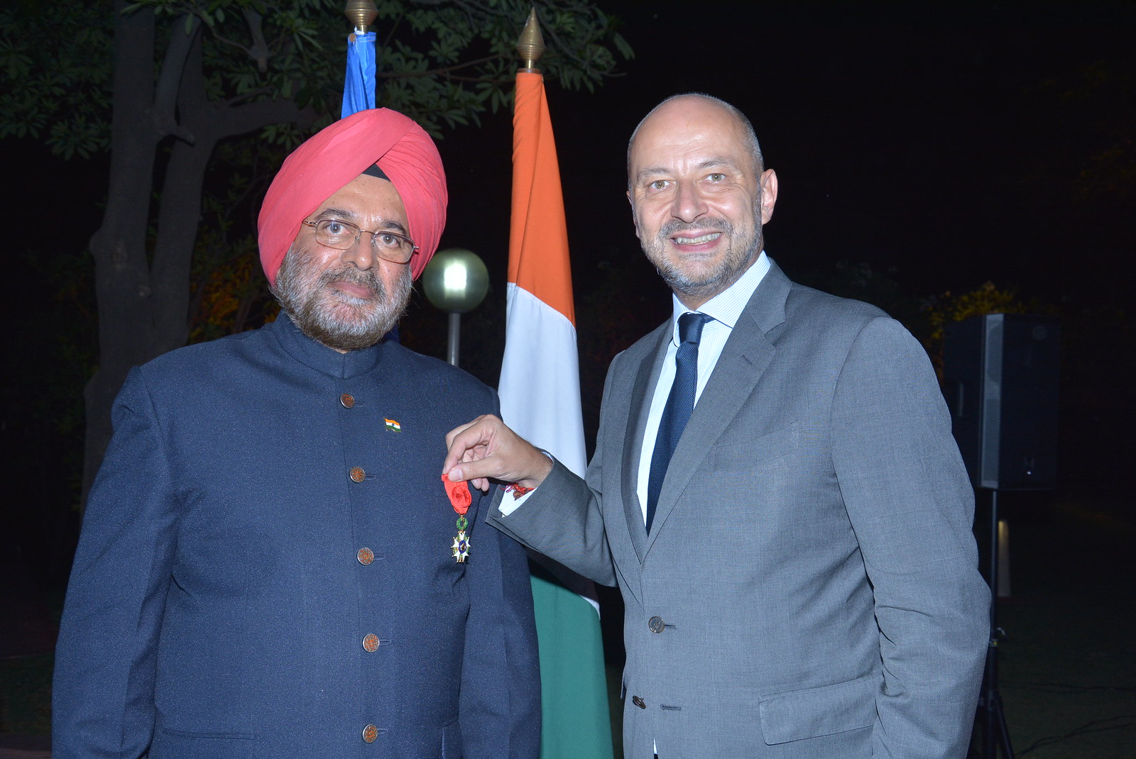 "Highest French Distinction ""Officer of the Legion of Honour"" conferred on General JJ Singh"