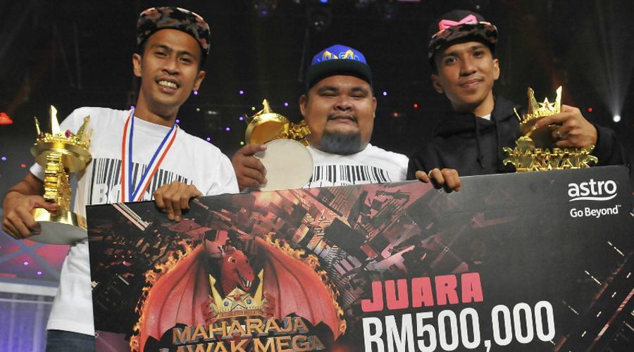 Tahniah! Kumpulan Bocey Juara Maharaja Lawak Mega 2016