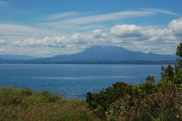 Views of Lago Llanquihue near Llanquihue, Los Lagos, Chile