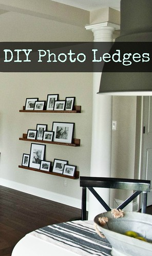 DIY Photo Ledges