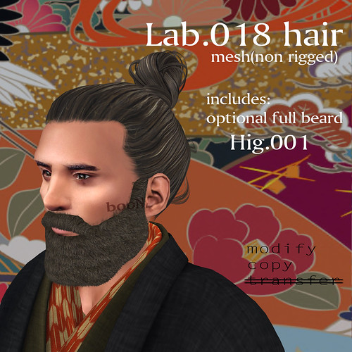booN Lab.018 hair