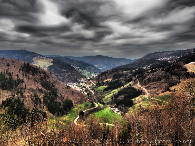 April Landscape from Schwarzwald, Todtnau