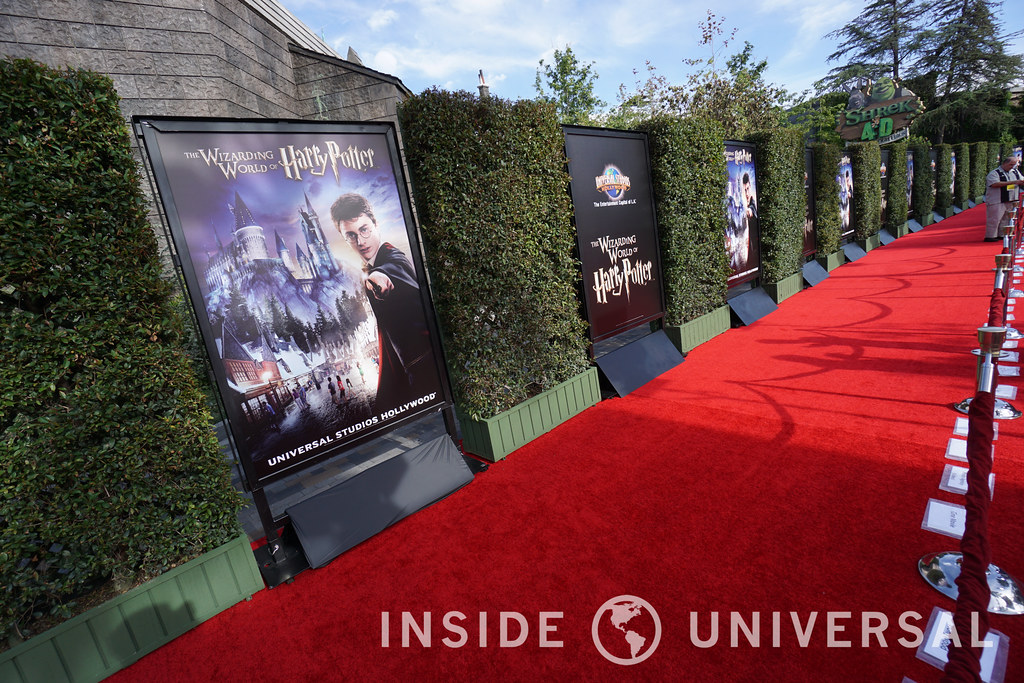 Universal Studios Hollywood opens up The Wizarding World of Harry Potter with an extraordinary nighttime spectacular