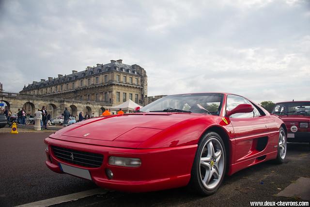 Vincennes en Anciennes 09/2011 - Ferrari F355 berlinetta