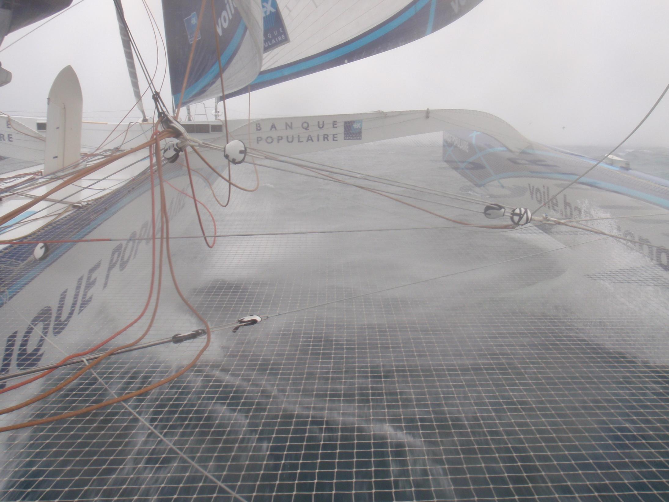Photo envoyee du bord  Ocean indien  jour 13 - 06122011 - BPCE