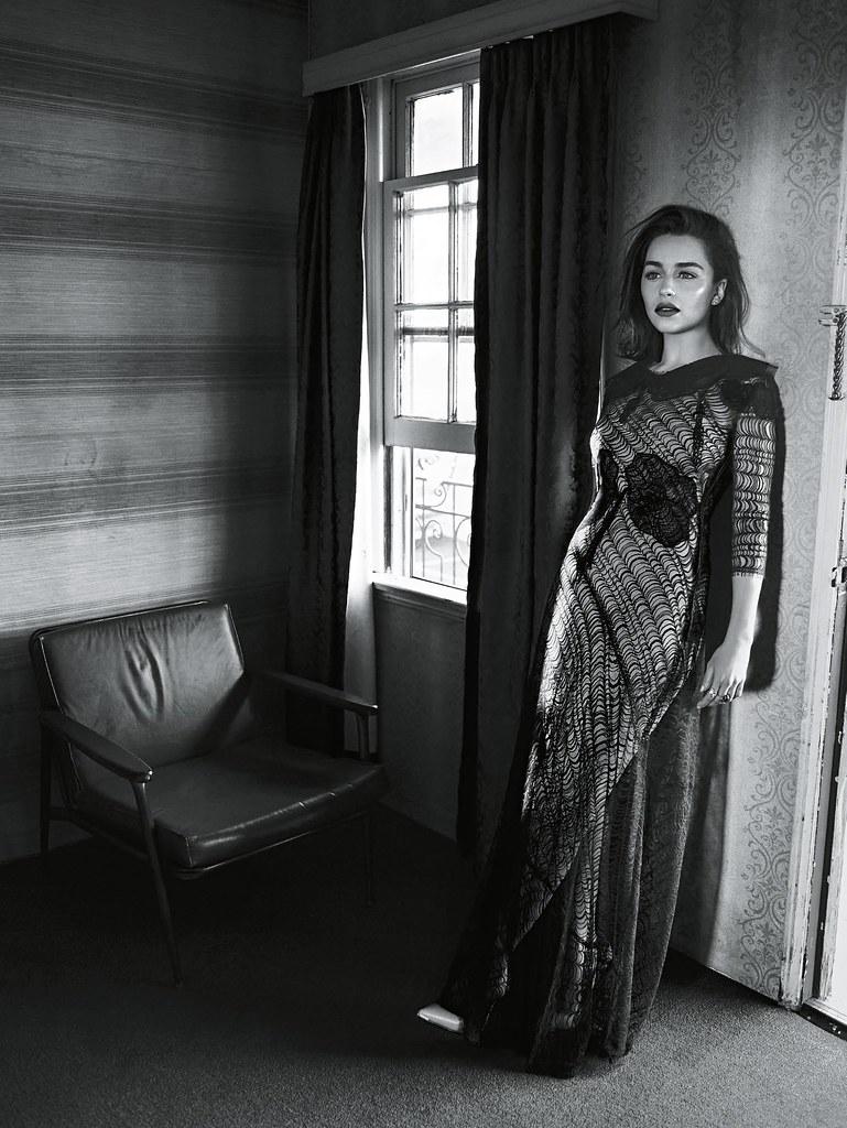 Эмилия Кларк — Фотосессия для «Vogue» AU 2016 – 3