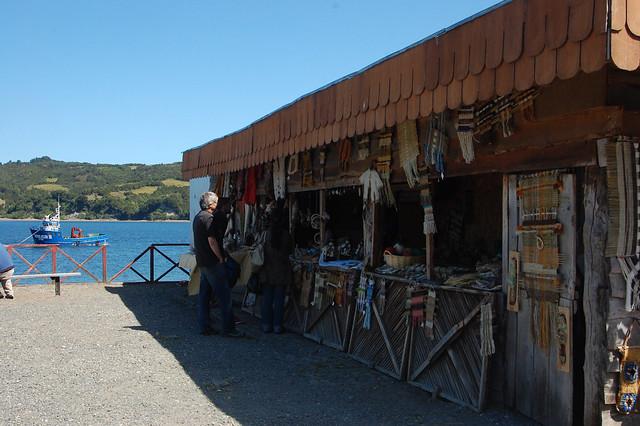 Feria Artesanal Manos Chilotas, Dalcahue, Chiloé, Chile