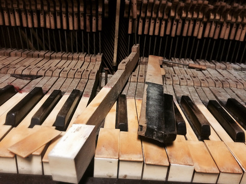 Deconstructing Grandma's Old Piano (April 20 2015)